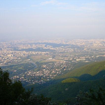 National park in the city of Sofia: Vitosha