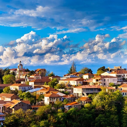 Sighnaghi, a city to get married in