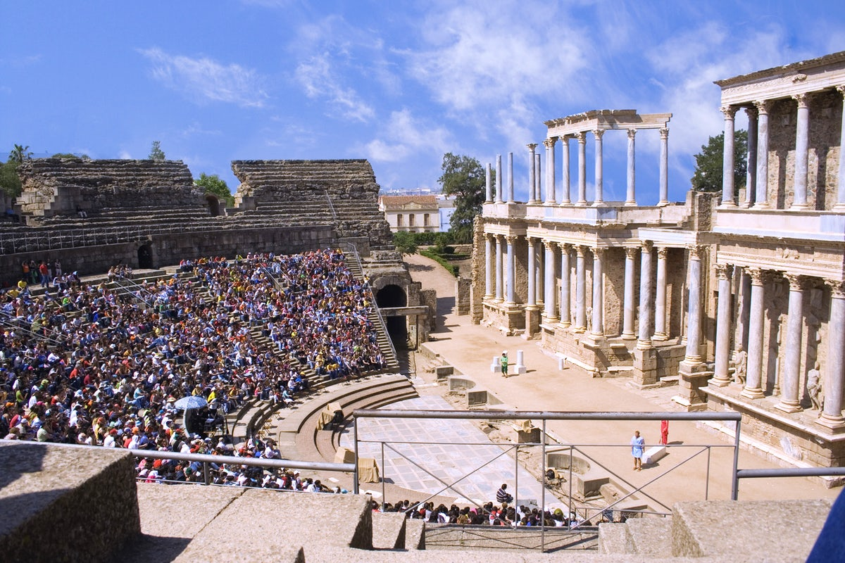 Visit the Theatre - Roman Style