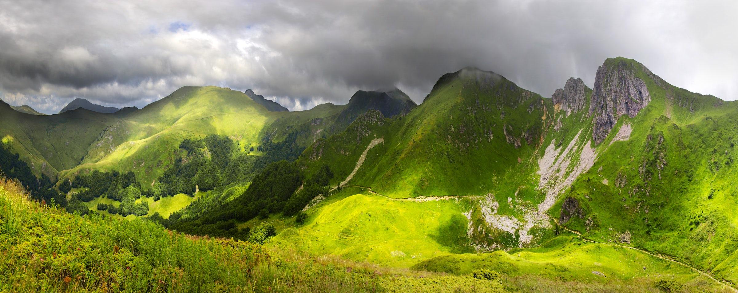 Hiking the mount Bjelasica