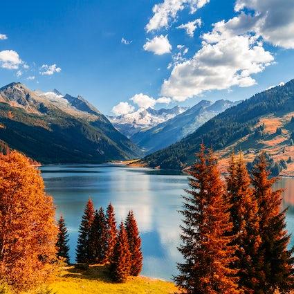 A man-made beauty – Lake Durlaßboden