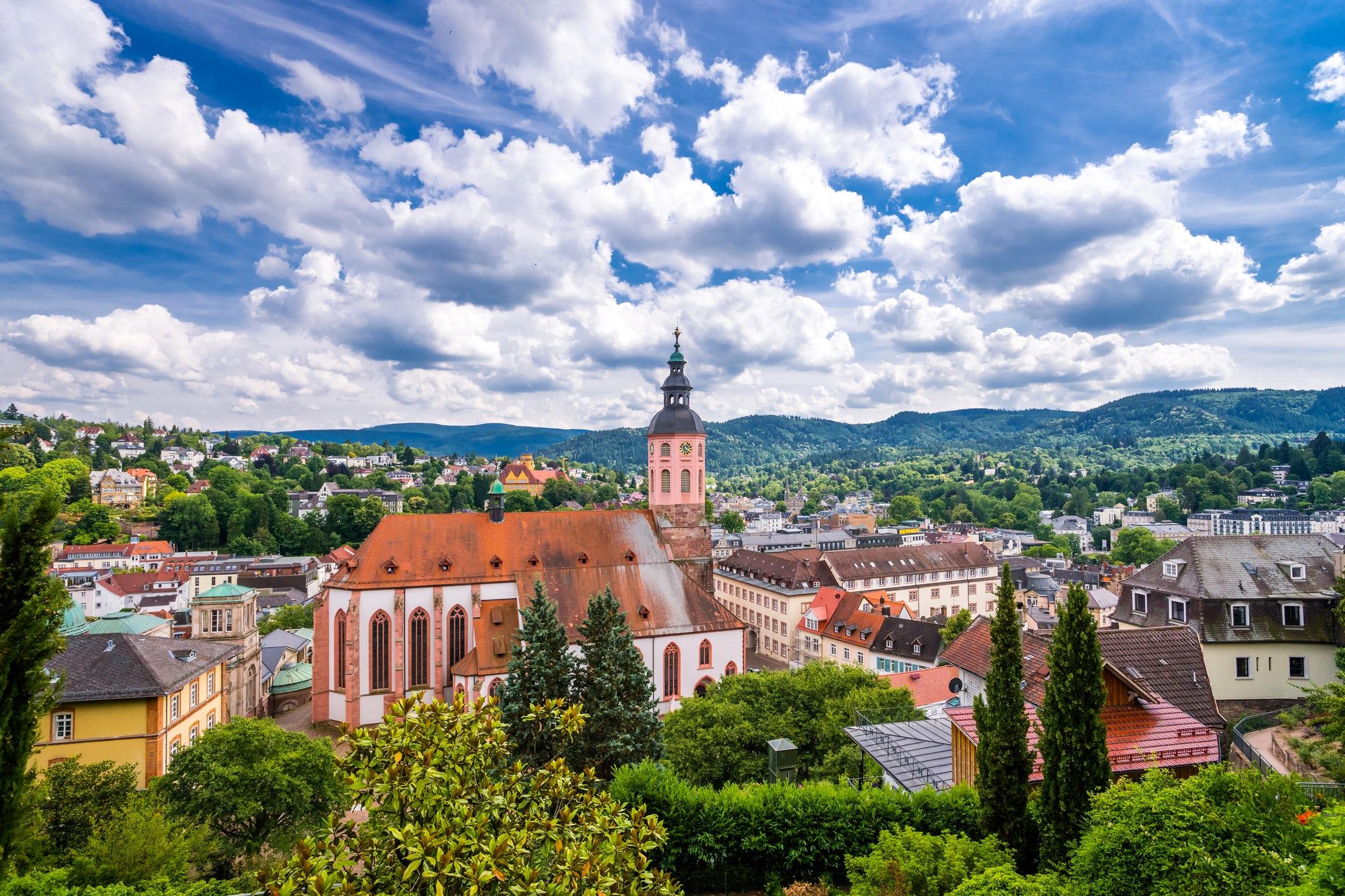The city of spa: Baden-Baden!