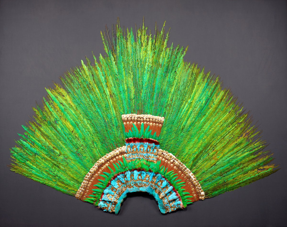 The Only Surviving Aztec Crown