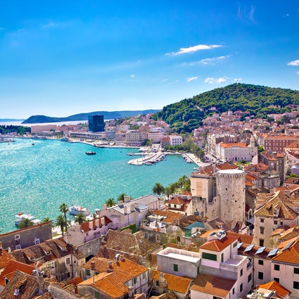 Split - one of the most beautiful cities in Croatia
