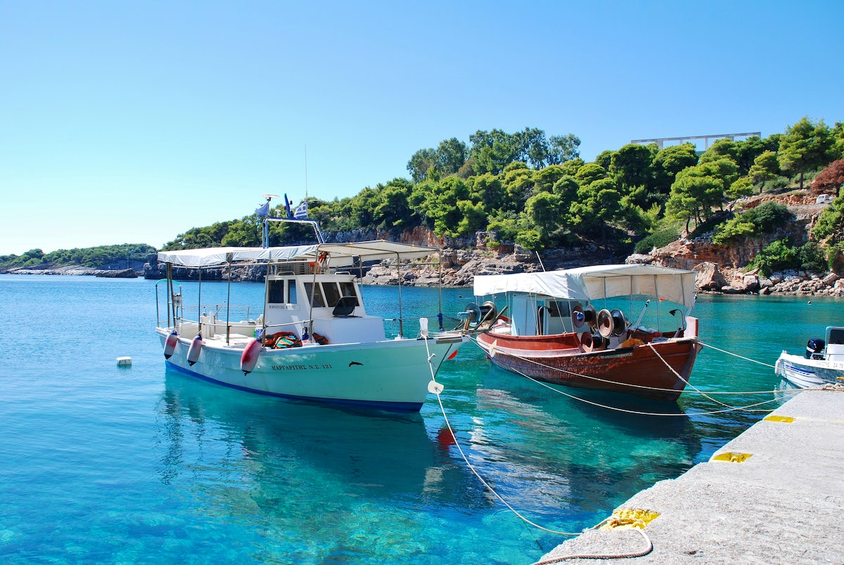 Day Cruise in Sporades; Skiathos, Skopelos, Alonissos