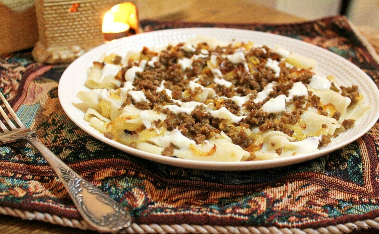 Winter dishes in Azerbaijani cuisine