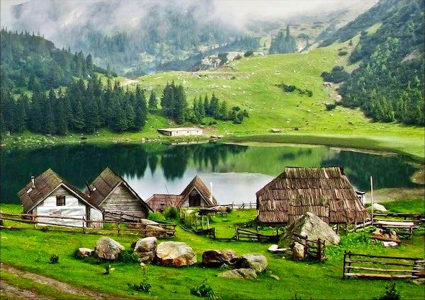 "Hiking ""the Swiss Alps"" in Bosnia: Mt. Vranica"
