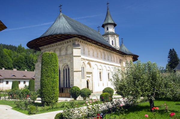 The Putna Monastery & my attempt to remember history