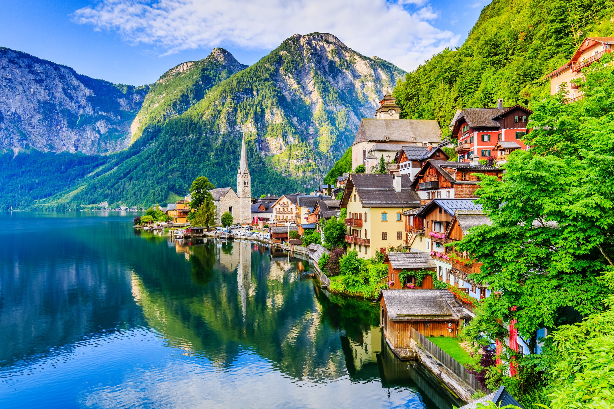Why did Chinese made full size copy of Hallstatt?