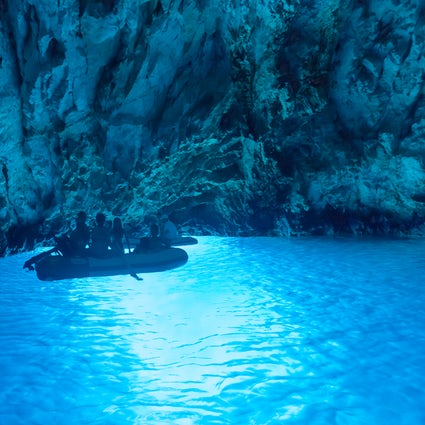The Blue Pearl of the Adriatic - the Blue Grotto