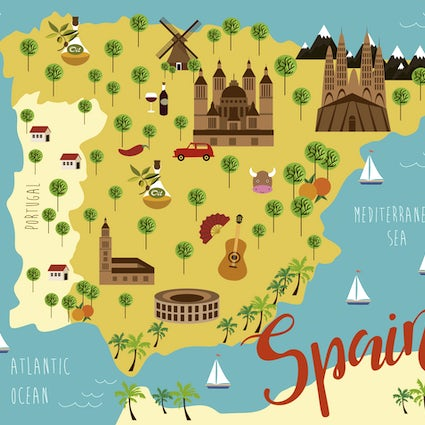 The most significant Erasmus+ institutions Part 2. Spain