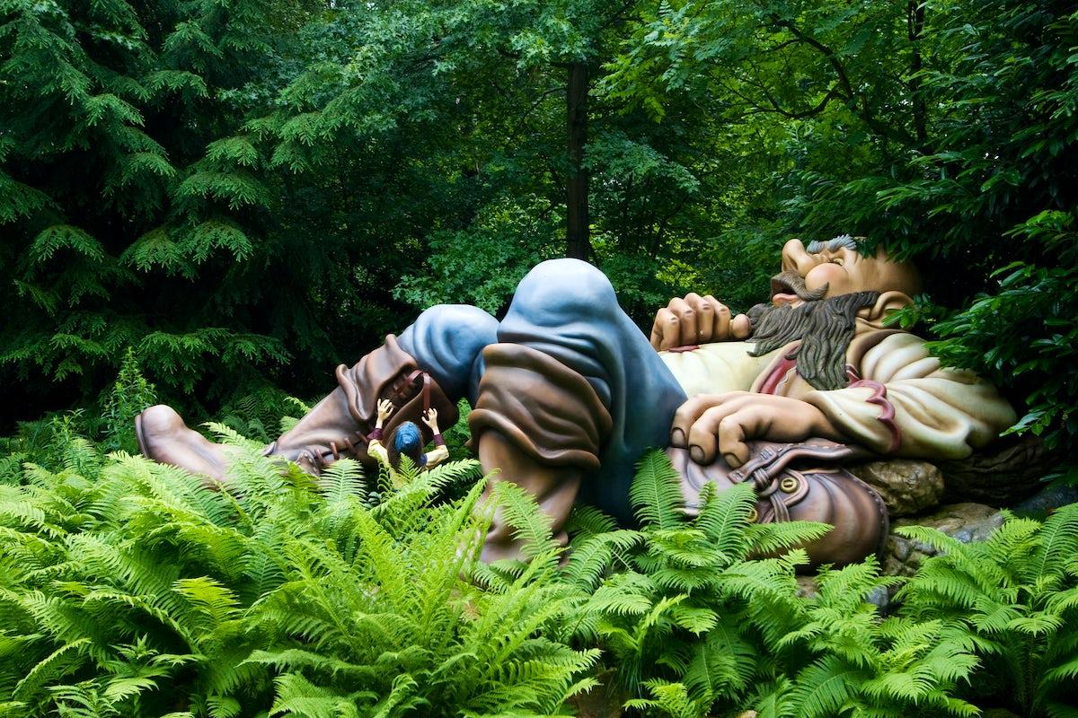 Efteling, an actual Dutch fairy tale