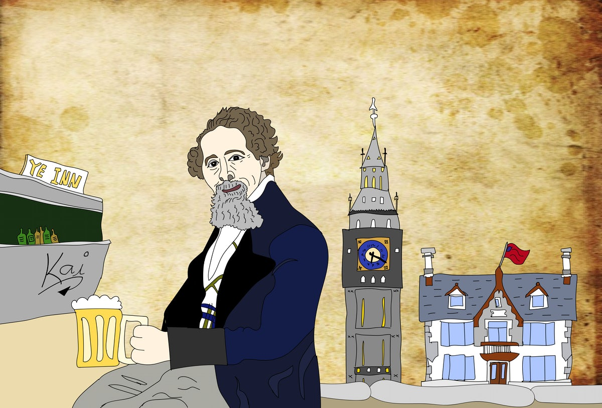  Charles Dickens exposes the pub scene of London