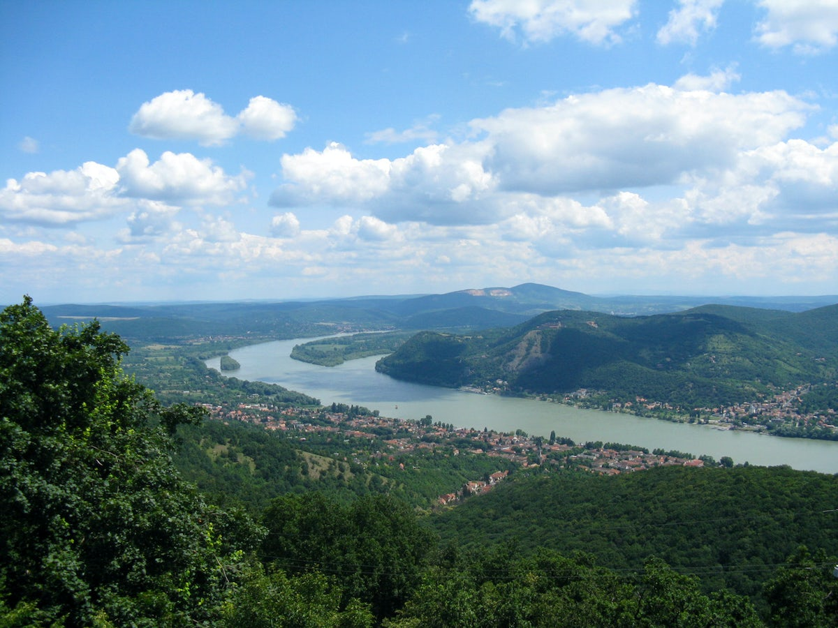 A car trip along the Danube touring triangle